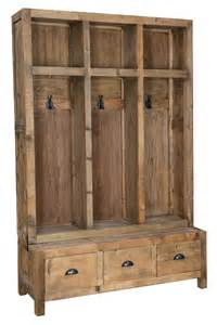 Entryway Storage Bench With Coat Rack Rustic Entry Coat Rack Storage Bench