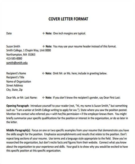 Formal Covering Letter by Sle Formal Letter Format 34 Exles In Pdf Word
