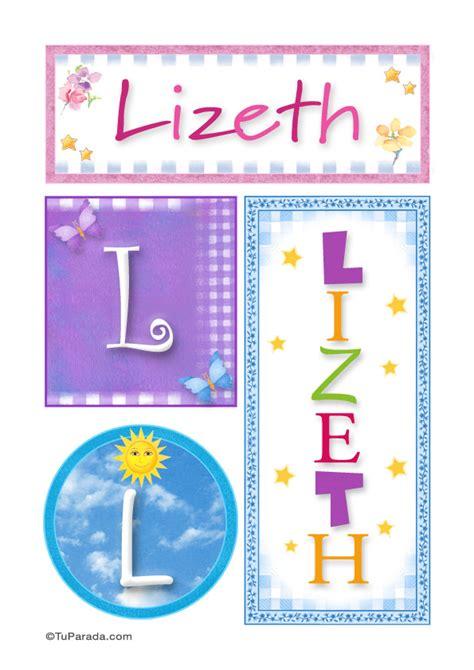 imagenes de feliz cumpleaños lizeth lizeth nombre imagen para imprimir mujer nombres