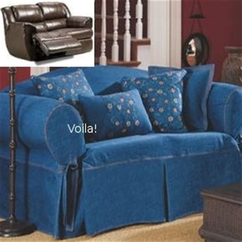 blue jean couch covers denim sofa covers apartment decorating ideas pinterest