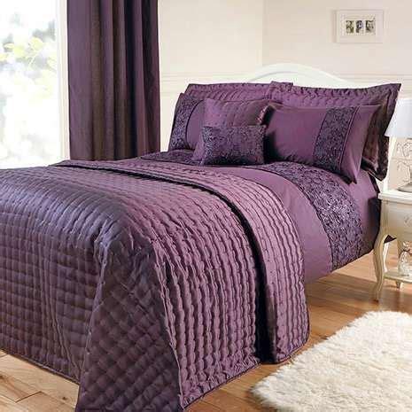 aubergine bed linen aubergine eliza sparkle bed linen collection dunelm