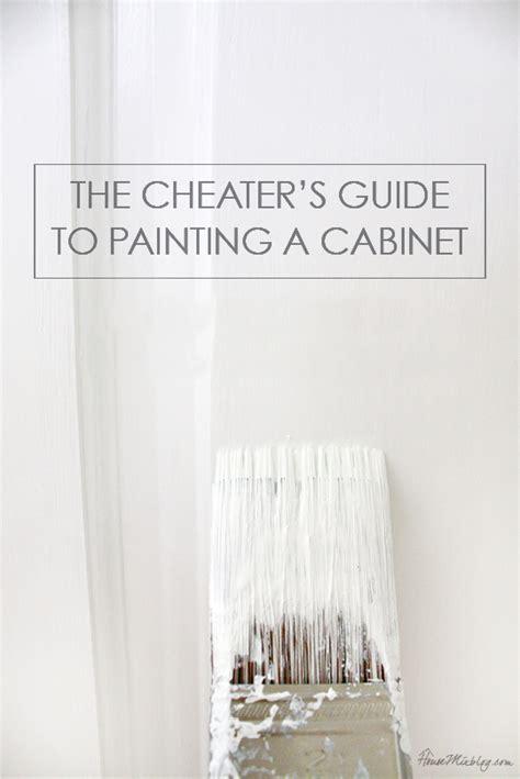 Painting Cabinets Without Removing Doors How To Paint Cabinets Without Removing Doors House Mix