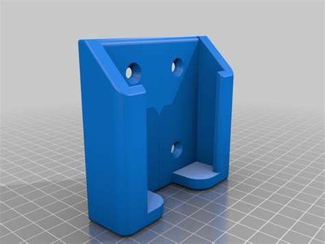 wall mounted cell phone holder wall mount phone holder by g00seman thingiverse