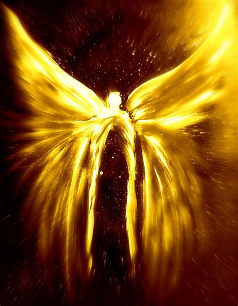 starseed ariel angels of the golden light anscension digital art by alma