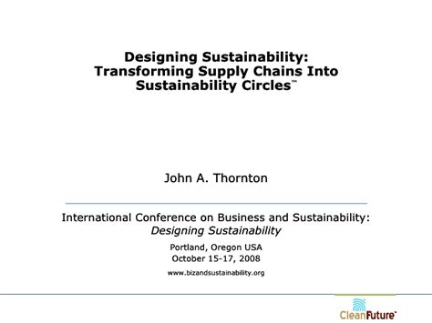 Sustainability Threats Facing Mba Polymers by Transforming Supply Chains Into Sustainability Circles