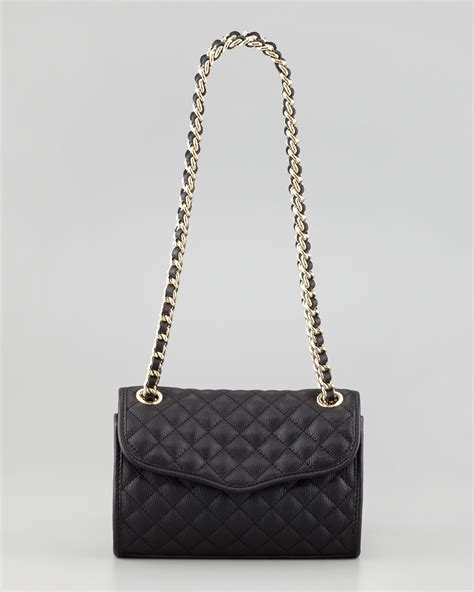 Minkoff Quilted Affair Black by Minkoff Quilted Affair Mini Shoulder Bag In Black Blk Lyst