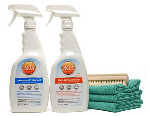 boat seat cleaner and protectant 303 aerospace protectant cleaner combo 303 fabric