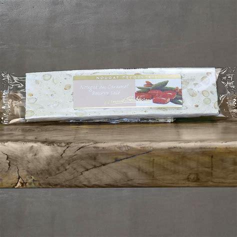 Chocolate Nougat 100 Gr nougat au caramel cuit au chaudron arnaud soubeyran