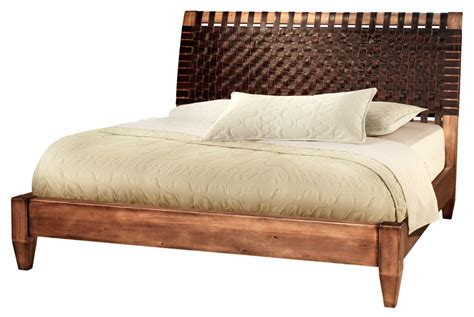 Unique Headboards | wood low profile bed frame queen size with unique