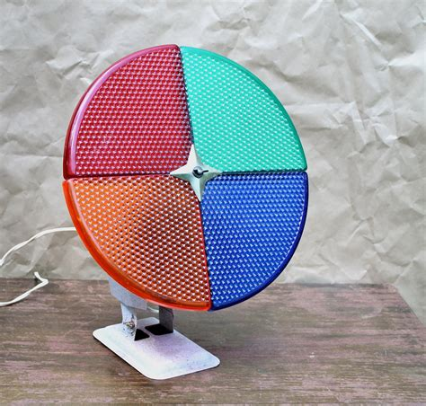 vintage color wheel for aluminum christmas tree by downstate