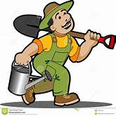 Gardener Cartoon. Royalty Free Stock Photo - Image: 16841915