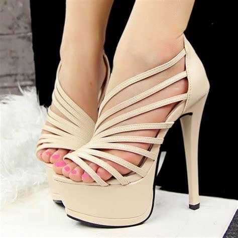 Cross High Heel Sandals cross casual shoes gladiator high heel sandals