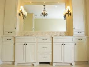 Bathroom Vanity Top Towers Master Bathroom Vanity With Towers Traditional