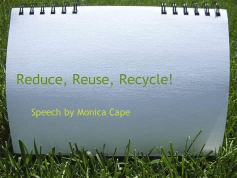 Reduce Reuse Recycle 1 Authorstream Reduce Reuse Recycle Ppt