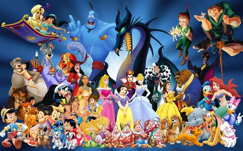 Wallpaper Of Disney Characters | disney characters wallpapers wallpaper cave