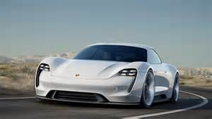 Electric Car Images Confirmed Porsche Mission E Electric Car Will Be Built By