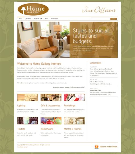 home design websites home gallery galway web designers web design galway