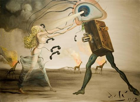 3 Paintings By Salvador Dali by Salvatore Dali Sy
