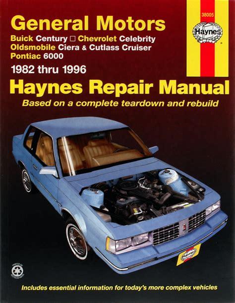 hayes auto repair manual 1984 pontiac 6000 on board diagnostic system programyvet blog