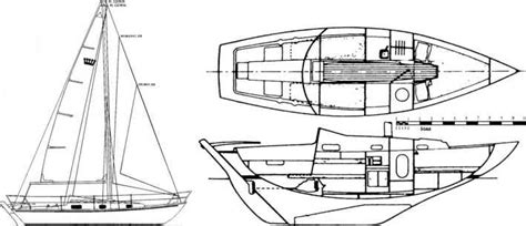 boat drawing software folkboat design from england and canada cruising