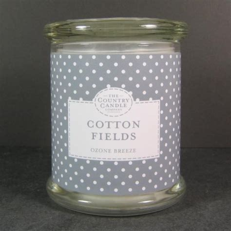 Country Candles Country Candles Cotton Fields Glass Jar Scented Candles