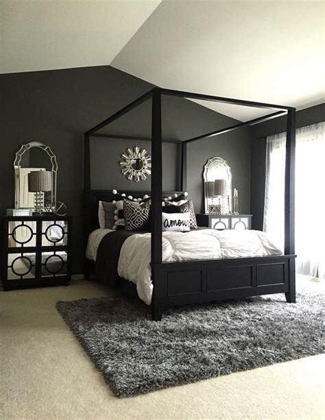 decorating bedroom ideas black and white master bedroom decorating ideas black