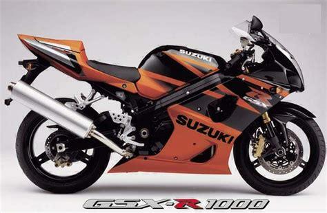 2003 Suzuki Gsxr 1000 Specs Suzuki Gsx R 1000