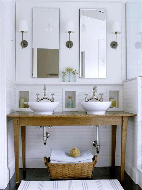 table for bathroom an urban cottage bathroom fixtures