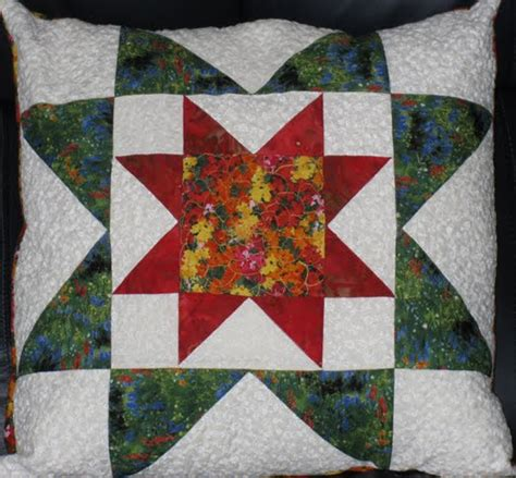 Quilt Pillow Patterns by Mywebquilter Pretty Quilted Rising Pillow For