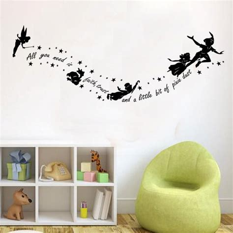 pan wall stickers pan all you need is faith wall decal sticker vinyl
