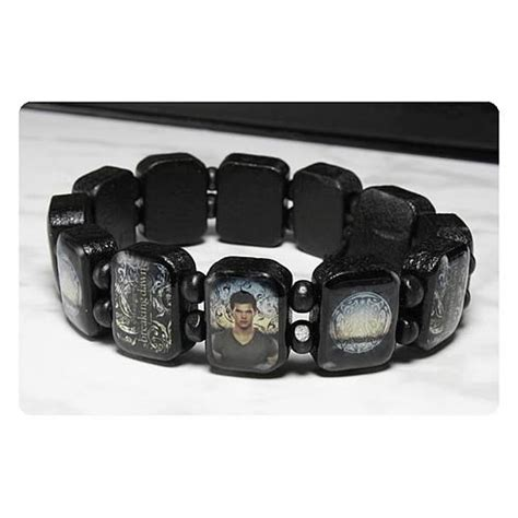 Twilight Breaking Dawn Part 2 Jacob Wooden Bracelet   NECA   Twilight   Jewelry at Entertainment