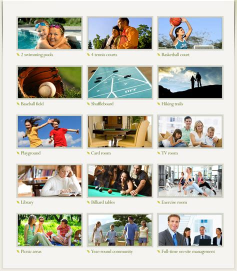 what are amenities foxcroft amenities