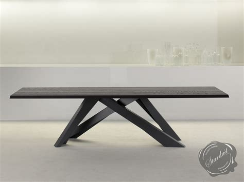 contemporary table dining room tables bonaldo italian contemporary modern big dining table