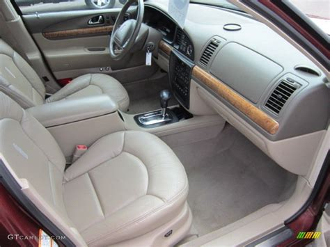2002 Lincoln Continental Interior by 2000 Lincoln Continental Standard Continental Model