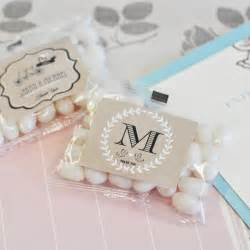 Personalize Wedding Favors vintage wedding personalized jelly bean packs