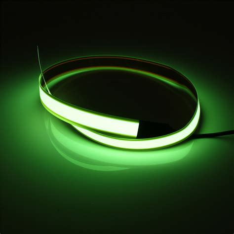 Neon Light El Wire 60cm 1m neon light el wire electroluminescent rope decor new ebay