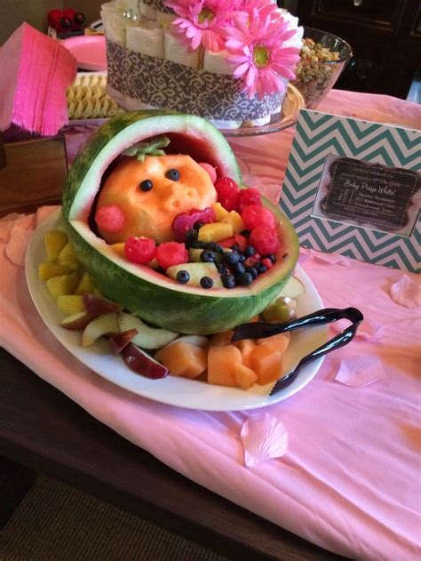 Fruit Tray For Baby Shower by Baby Shower Fruit Tray Babyshower Ideas