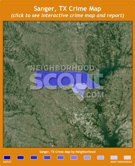sanger texas map sanger tx 76266 crime rates and crime statistics neighborhoodscout