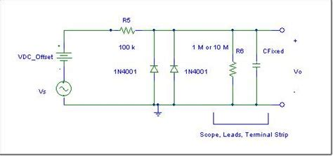 diode capacitor parallel circuit figure 6b diode capacitance measurement circuit