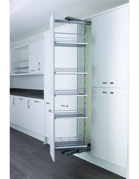 kesseböhmer base cabinet pull out storage 300mm pull out storage linear baskets side fixing 300 500mm