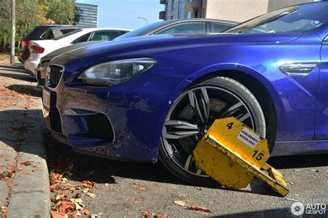 bmw owner bmw m6 gets punished for owner s improper parking carscoops