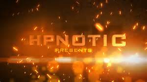 particle fire free after effects template youtube