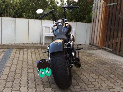 Tieferlegung Harley Street Bob by Fxdb Street Bob Street Bob Rear Fender Tieferlegen S 1