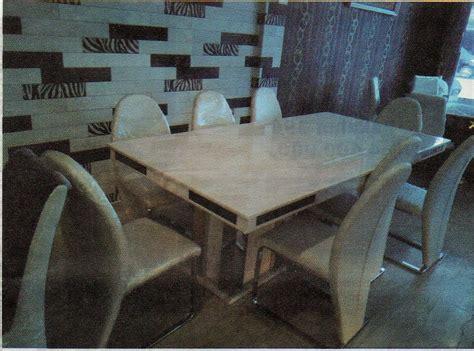 Meja Makan Di Medan jual meja makan marmer 696 harga murah medan oleh mizzea home living