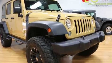 sand jeep for sale lifted 2014 jeep wrangler unlimited for sale sand dune xd