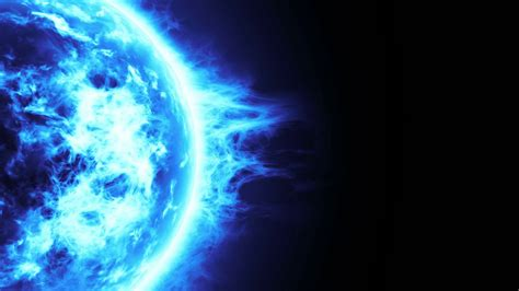 wallpapers frozen planet blue planet frozen planet surface with blue flares