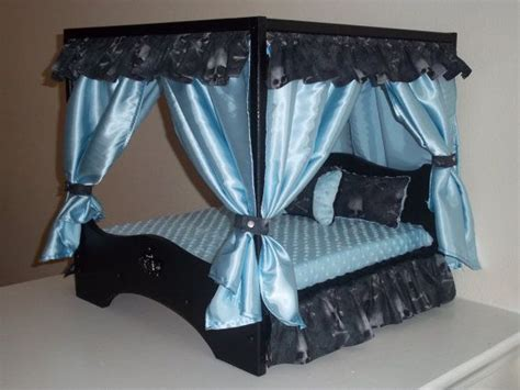 dog canopy bed large canopy dog bed pets pinterest to be dog beds