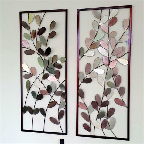 large metal wall framed wall sculpture home decor