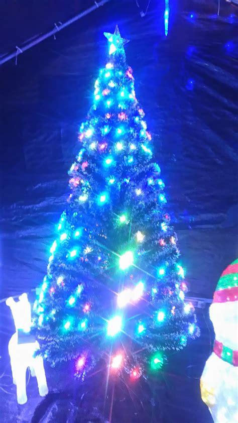 arbol navidad led 240 193 rbol navidad blanco fibra 211 ptica y led 2 10 metros 562 000 en mercado libre