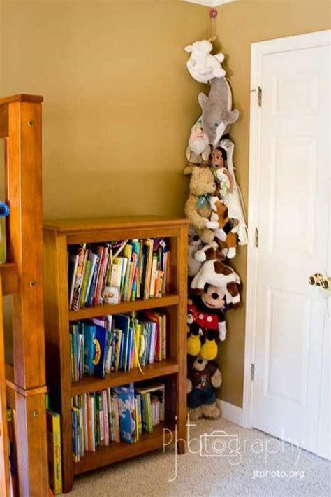 top  clever diy ways  organize kids stuffed toys
